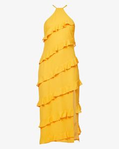 Martine floral-print woven mini dress