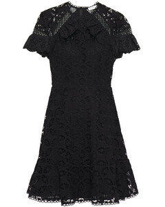Corentin ruffle-trimmed broderie anglaise mini dress