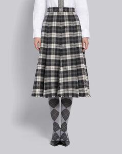 羊绒荷叶伞裙