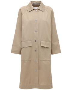Patula Cotton Gabardine Trench Coat