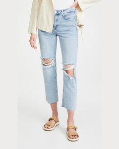 Noella直筒牛仔裤