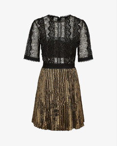 Athena lace woven dress
