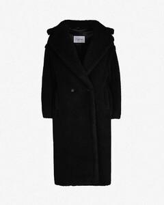 Teddy camel-blend coat