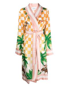 N°142 Run grey cashmere-blend trousers