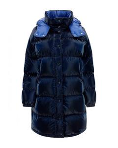 Contrast graphic print skirt