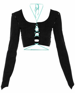 Technical padded hooded coat