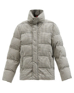 Ace checked padded jacket