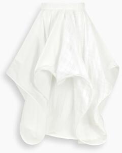 White spiral skirt