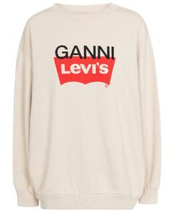 x Levi's®棉质混纺针织运动衫