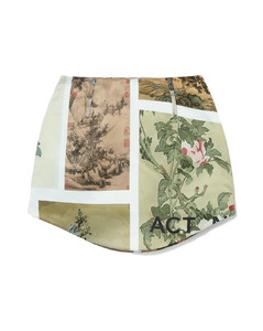 Bruxelle Oversize Trench Coat Gingham Check