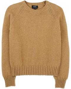 Alyssa Knit Pullover Sweater - Camel