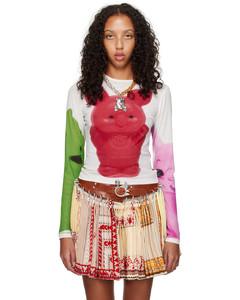 Fleece wool skirt