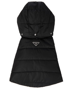 Quilted re-nylon dog gilet