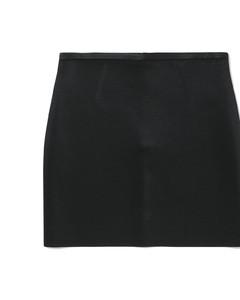 Holiday Capsule metallized skirt