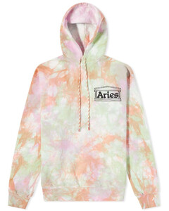Leaf stripe-print woven top