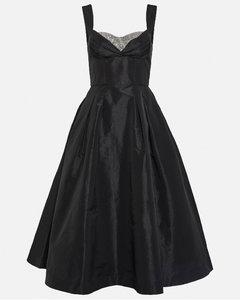 Cross-intarsia wool-blend sweater