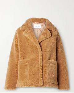 Marina人造羊毛皮夹克
