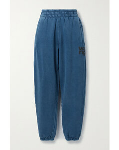 Neon Cotton-jersey Track Pants