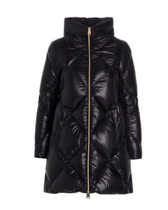 Panelled-hem cotton-gabardine trench coat