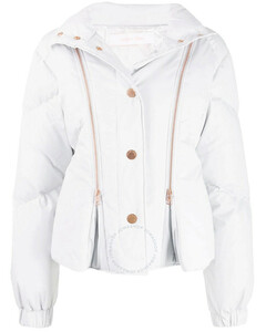 Chloe Ladies Quilted Down Puffer Jacket