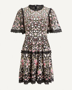 Michlin hooded nylon puffer jacket