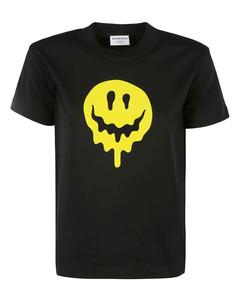 Melting Smiley Print T-shirt