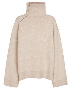 牦牛绒与羊毛混纺毛衣