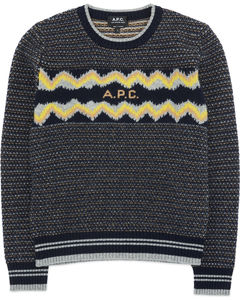 Adele Knit Pullover Sweater - Dark Navy Blue