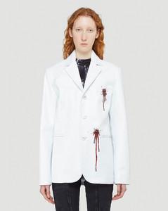 Bloody Blazer in White