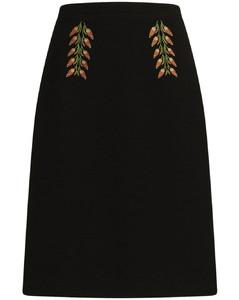 Snow Ski touring jacket in Black/Olive green