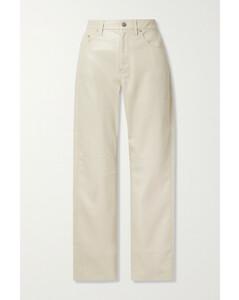 Vinni Cropped Vegan Leather Pants