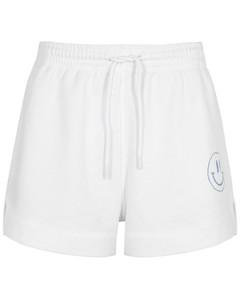 Isoli white jersey shorts