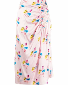Antwerp Varryme Floral Print Frilled Blouse