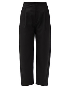 Lumio cropped twill trousers