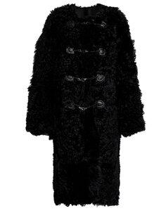 羊毛皮大衣