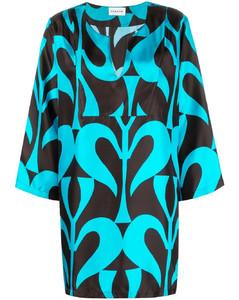 Garter white cotton shirt