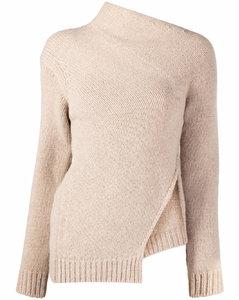 Asymetric wool sweater