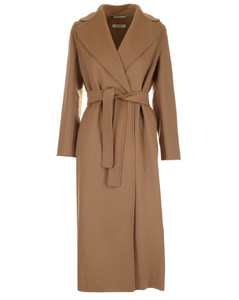 'S Max Mara Wrap Long-Line Coat