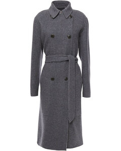 Woman Rach Reversible Double-breasted Wool-blend Coat