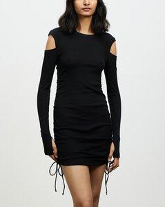 Rib Lacing Dress