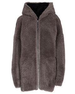 羊毛皮正反两穿大衣