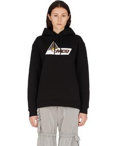 Beam Logo Boyfriend Hoodie - Darkest Black