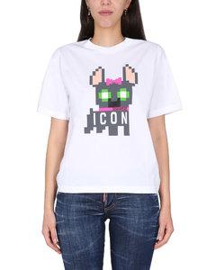 Vacation Ischia亚麻与棉质中长连衣裙