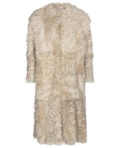 Geltonia shearling coat