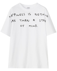 Words T-shirt in cotton