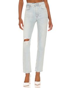 Button-down stretch-jersey midi dress