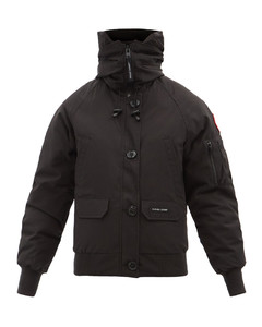 Chilliwack hooded down bomber jacket