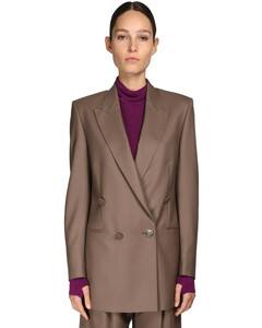 Double Breasted Merino Wool Jacket