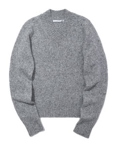 Brush knit sweater