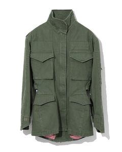Patch pocket utility jacket